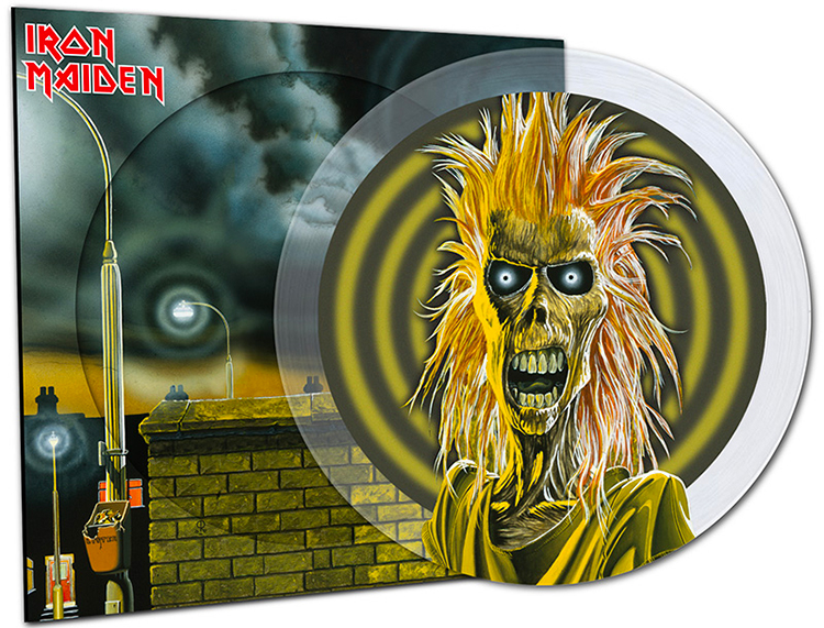 Iron Maiden Picture Disc Crystal 40 ans